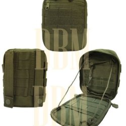 Molle Tactical Utility Side Kick Pouch Accessory Carrier Pocket Bag Od Green