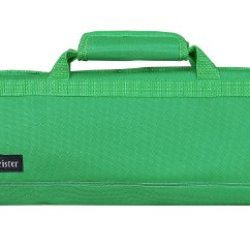 Messermeister 8-Pocket Padded Knife Roll, Kelly Green