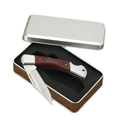 Personalized Jds Gifts Home Decorative Yukon Lock-Back Knife In Tin Case