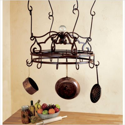 Image of Bago Luma Large Round Pot Rack & Accessories WKR07x & Accessories (WKR07x & Accessories)