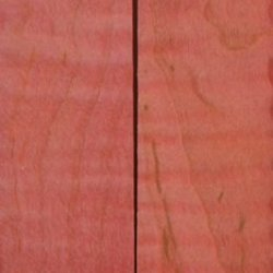 "Maple Curly Stabilized Pink 2 Pc Knife Scale 3/16""X1 1/2""X5"" Nk3"