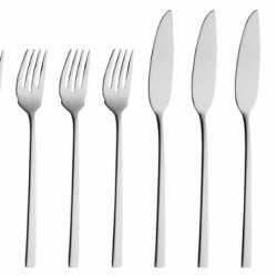 Solex 200402268 Helena 4-Piece Fish Knife, Set Of 8