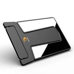Vktech Carzor Wallet Portable Credit Card Shaver Pocket Razor Blades & Mirror