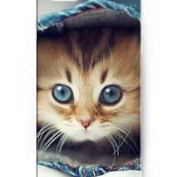 Ukase Deluxe Apple Iphone 6 Plus Case 5.5 Inch With Cute Design Of Lovely Cat