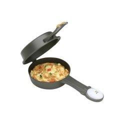 "Joie Egg Face Nonstick 5"" Omlet Pan Easy Flipping Fry Pan Single Serving New"