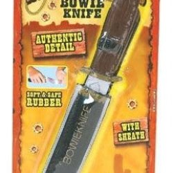 Bulk Buys Wild West Bowie Knife Rubber - Case Of 12