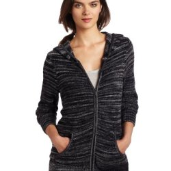 Exofficio Women'S Irresistible Neska Stripe Hoody,Dark Pebble,Medium