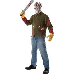 Friday The 13Th Jason Voorhees Adult Costume Size: X-Large (Jacket Size 44-46)