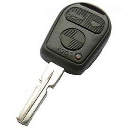 For Bmw 3 5 7 X5 X3 Z4 E38 E39 E46 3 Button Remote Key Fob With Blank Blade Hu58