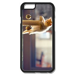 Cat Play Balls Pc Awesome Case Cover For Iphone 6