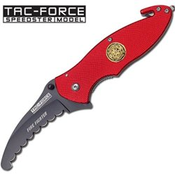 Tac Force Yc-565Fd Assisted Opening Folding Knife, 4.5-Inch Closed