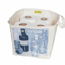 25Cm Storage Cube In 'Blue Bathroom'