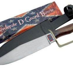 Szco Supplies Confederate D Guard Bowie Knife