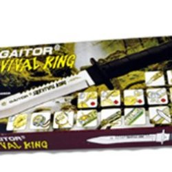 Fury Survival King Deluxe Adventurer Survival Kit Knife, 10.5-Inch