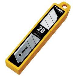 Tajima Lcb-65-20B Replacement Blades For Tajima Rock Hard Aluminist Knives, 20 Pack