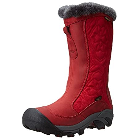 Snow bunny meets snow Betty in the KEEN Betty Boot II. The waterproof nubuck and textile upper of this cozy women's winter boot is filled with 200-gram weight KEEN.WARM insulation for lightweight, anti-microbial protection against the cold; a KEEN.DR...