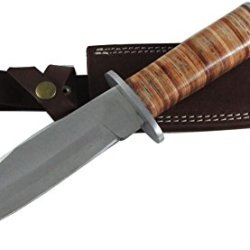 "Moorhaus Handmade 1/4"" D2 Vietnam Recon Scout Patrol Combat Bowie Knife"