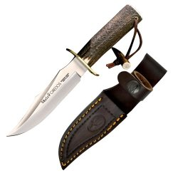 Muela Gredos Fixed Blade Knife 11.5-Inch Stag Handle