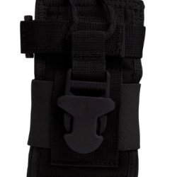 Uncle Mike'S Molle Compatable Small Radio/Gps Pouch, Black