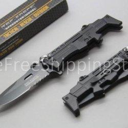 Rifle Design M 16 Speedster A/O Linerlock Black Stainless Steel
