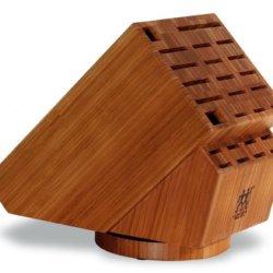Zwilling J.A. Henckels Twin 26 Slot Bamboo Swivel Block