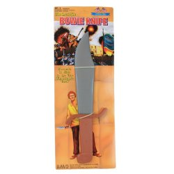 Jim Bowie Toy Knife: 15 Inch Long Life-Size Prop By Bmc Toys