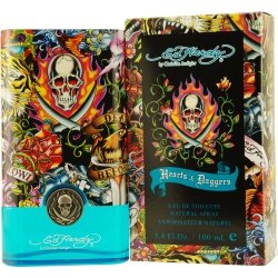 Ed Hardy Hearts & Daggers By Christian Audigier Edt Spray 3.4 Oz (Package Of 3)