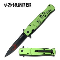 Z Hunter Zb-092Gz Spring Assisted Knife, 4.75-Inch Closed