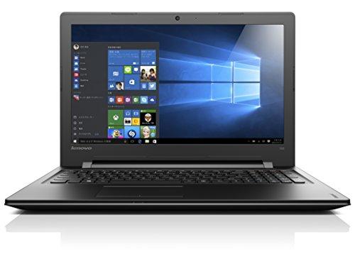 Lenovo ノートパソコン IdeaPad 300 80M30014JP / Windows 10 Home 64bit / 15.6インチ / Celeron N3050 / エボニーブラック