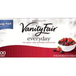 Vanity Fair Everyday Napkin, 300 Count