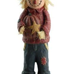 Craft Outlet Papier Mache Scarecrow Figurine, 13.5-Inch
