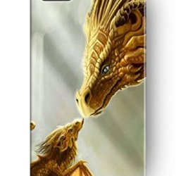 Sprawl New Vintage Design Personalized Hard Plastic Snap On Slim Fit Iphone 4 4S Case Dragon Mother And Baby