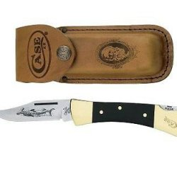 Case Cutlery 00177 Lockback Knife With Stainless Steel Blade Stainless Steel