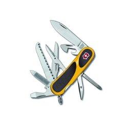 Victorinox Swiss Army Evogrip 18 Swiss Army Knife, Yellow