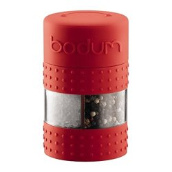 Bodum Bistro Twin Salt & Pepper Grinder - Red