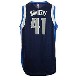 Youth Dallas Mavericks Dirk Nowitzki Adidas Navy Blue 2014-15 New Swingman Alternate Jersey
