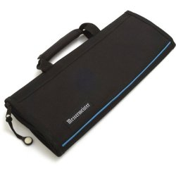 Messermeister 6-Pocket Knife Roll 1066-6/B , Black
