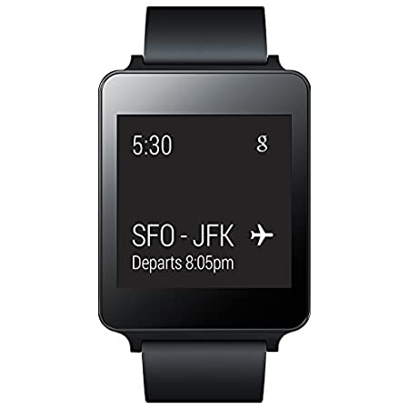 "LG G Smart Watch for select Android devices. Bluetooth 4.0 technology lets you easily sync with your compatible Android device to this LG G Watch, so you can receive and view important mobile notifications on the 2.2"" touch-screen LCD."