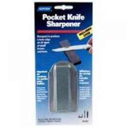 Norton Abrasives 87937 - Pocket Knife Sharpener W/Case