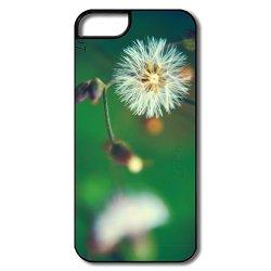 Graphic Safe Slide White Flower Cell Phone 5 Case