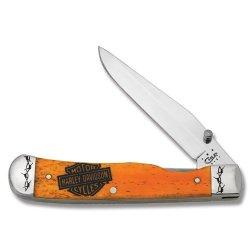 Case Cutlery 52070 Harley Davidson Trapperlock
