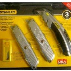 Stanley Utility Knife Set 3 Piece