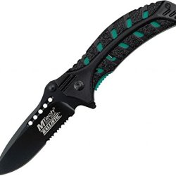 Mtech Usa Mt-A827Gn Spring Assisted Knife, 4.5-Inch Closed