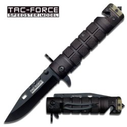 Tac Force Yc-636Bgn Folding Knife 4.5-Inch Closed
