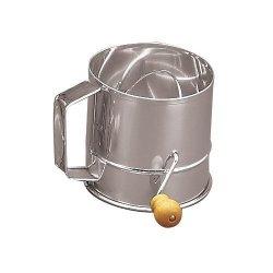 Fox Run 3 Cup Stainless Steel Flour Sifter
