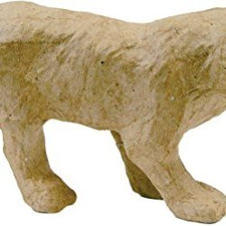 "Paper Mache Figurine 4.5""-Tiger *** Product Description: Paper Mache Figurine 4.5""-Tigerdecopatch-Paper Mache Figurine. This Figure Is Fun For Decoration And Play. It Can Be Painted And Decorated How You Want To. This Package Contains One 4-1/2 I ***"