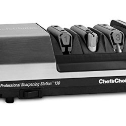 Chef'S Choice Model 130 Professional Electric Sharpening Station 3-Stage Stainless Steel