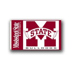 95021 - Mississippi State Bulldogs 3 Ft. X 5 Ft. Flag W/Grommets