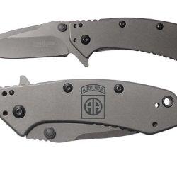 82Nd Airborne Engraved Kershaw Cryo 1555Ti Folding Speedsafe Pocket Knife By Ndz Performance