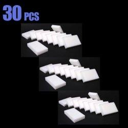 Pack Of 30, Magic Sponge Eraser Cleaning Melamine Foam Cleaner, Eco-Friendly 100% Basf Material Mp30